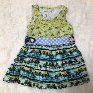 Matilda Jane Girls Palm Tree Dress, 18-24 Mths
